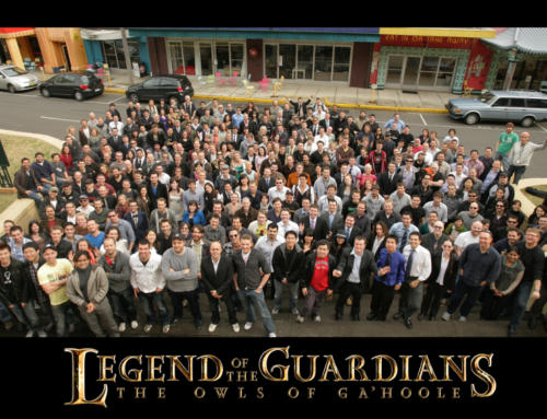 Legend of the Guardians Crew